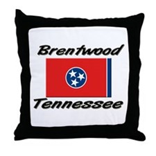Brentwood Tennessee Throw Pillow