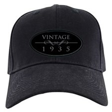 Vintage 1935 Birth Year Cap