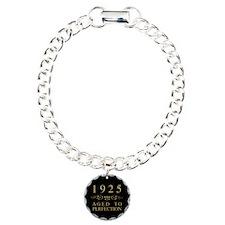 Vintage 1925 Birth Year Bracelet