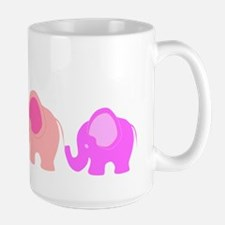 Pink Elephants Mugs