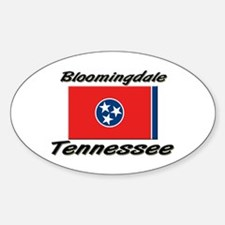 Bloomingdale Tennessee Oval Decal
