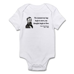 Henry David Thoreau 10 Infant Bodysuit