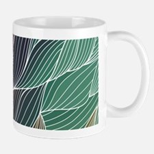 Multi Colored Waves Abstract Design Mugs