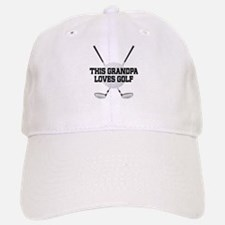 Grandpa Loves Golf Baseball Baseball Baseball Cap
