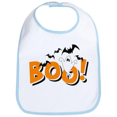 Boo Bats Bib