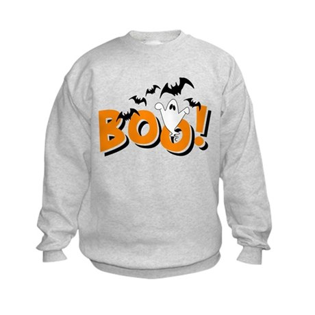 Boo Bats Kids Sweatshirt