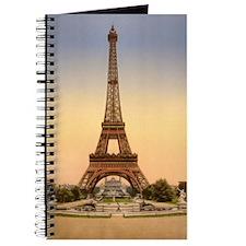 Eiffel tower, Paris France Journal