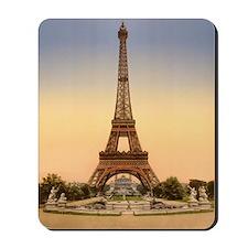 Eiffel tower, Paris France Mousepad