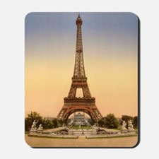 Eiffel tower, Paris France Mousepad