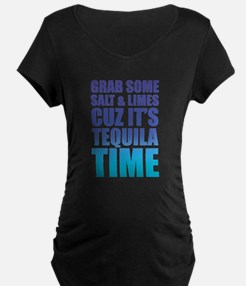 Grab Some Salt And Limes Cuz It's Tequila Time Mat
