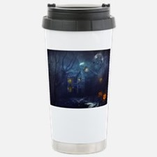 haunted house  Stainless Steel Travel Mug