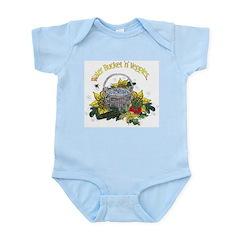 Water Bucket 'n' Veggies Infant Bodysuit