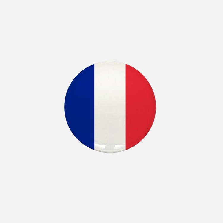 France Flag Mini Button
