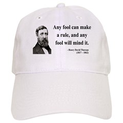 Henry David Thoreau 11 Baseball Cap