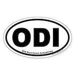 Old Dominion Industries ODI Oval Sticker