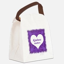 Cool Kind Canvas Lunch Bag
