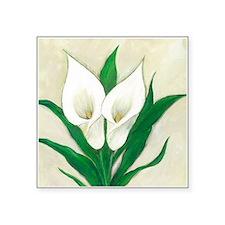 cala lilies original.jpg Sticker