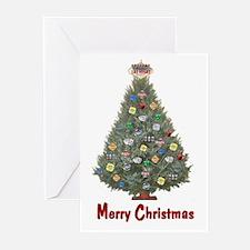 Las Vegas Merry Christmas Cards Pk of 10