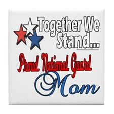 National Guard Mom Tile Coaster