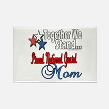 National Guard Mom Rectangle Magnet