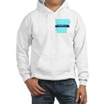 Hooded Sweatshirt for True Blue Arkansas Liberals