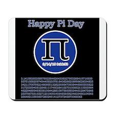 Happy pi day Mousepad
