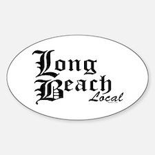 Long Beach Local Oval Decal