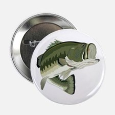 "LARGEMOUTH BASS 2.25"" Button (10 pack)"