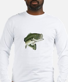 LARGEMOUTH BASS Long Sleeve T-Shirt