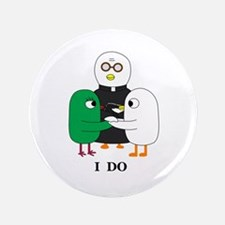 """I Do 3.5"""" Button"""
