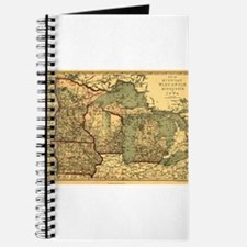 Midwest map 1873 Journal