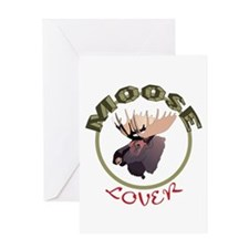 Moose Lover Greeting Cards