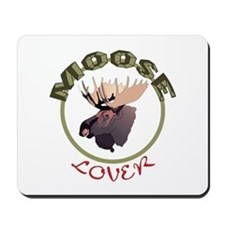 Moose Lover Mousepad