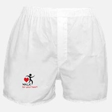 WALK FOR YOUR HEART Boxer Shorts