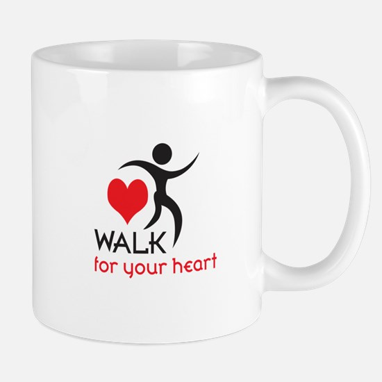 WALK FOR YOUR HEART Mugs