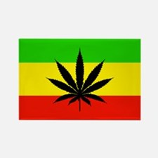 Reggae Weed flag Magnets