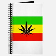 Reggae Weed flag Journal