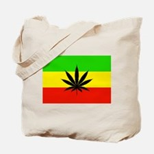 Reggae Weed flag Tote Bag