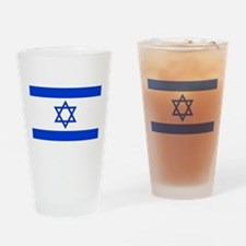 Israel flag Drinking Glass
