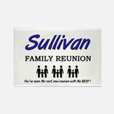 Sullivan Family Reunion Rectangle Magnet