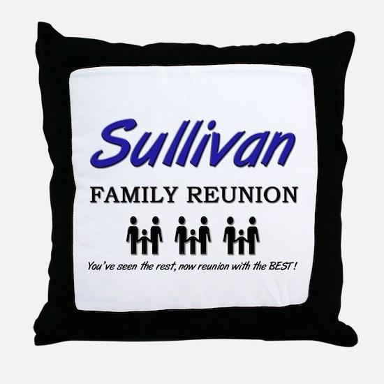 Sullivan Family Reunion Throw Pillow