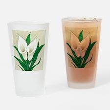 Calla Lily Drinking Glass