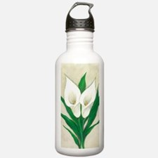 Calla Lily Stainless Water Bottle 1.0l