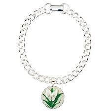 Calla Lily Round Bracelet