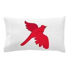 Cardinal Bird Pillow Case