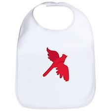 Cardinal Bird Bib