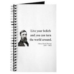 Henry David Thoreau 12 Journal