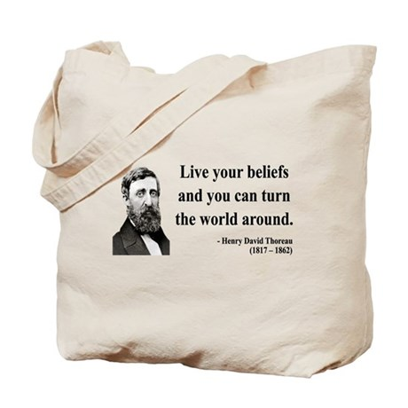 Henry David Thoreau 12 Tote Bag
