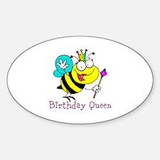 Birthday Queen Decal