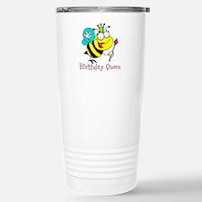 Birthday Queen Travel Mug